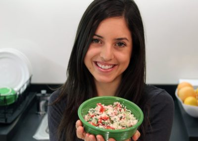 How to Make Raw Cauliflower Tabbouleh