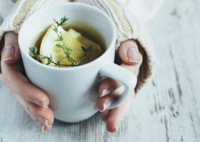 7 healthy teas to cure upset stomachs, winter colds